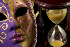 temps de déguisement Image stock