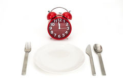 Temps de déjeuner Photographie stock libre de droits