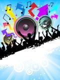Temps de disco Photo stock
