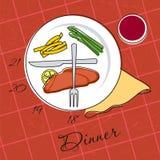 Temps de dîner Photo stock