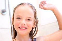 Temps de douche Photos stock