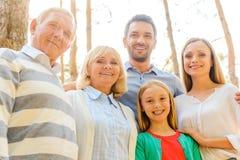 Temps de famille Photographie stock