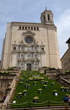 Temps de Flors (φεστιβάλ λουλουδιών), Girona, Ισπανία Στοκ εικόνες με δικαίωμα ελεύθερης χρήσης