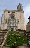 Temps de Flors (花节日),希罗纳,西班牙 免版税库存图片