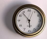 Temps de garniture Images stock