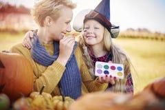 Temps de Halloween Images libres de droits