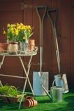 Temps de jardinage Photographie stock