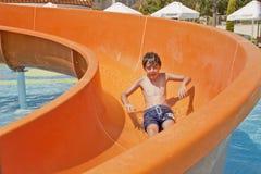 Temps de jeu en Aqua Toy City, Turquie Photographie stock libre de droits