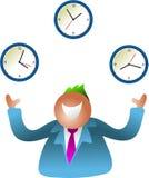 Temps de jonglerie illustration libre de droits
