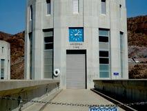 Temps de l'Arizona, barrage de Hoover Nevada Photos stock