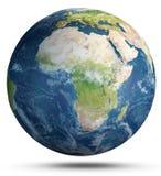 Temps de la terre de planète rendu 3d Photo stock