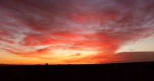 Temps de lever de soleil Photos stock