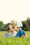 Temps de mère et de fille image libre de droits
