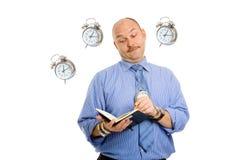 Temps de management Photo stock