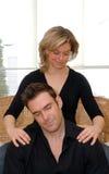 Temps de massage Photos stock