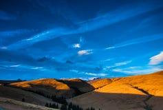 Temps de montagne de Bucegi au printemps Photographie stock libre de droits