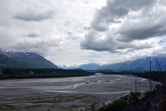 Temps de montagne en Alaska Photo libre de droits