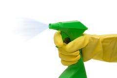 Temps de nettoyage Photographie stock libre de droits