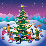 Temps de Noël. Photo libre de droits