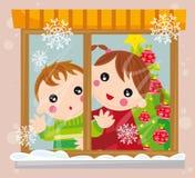 temps de Noël illustration stock