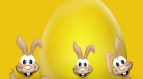 Temps de Pâques de lapin de Pâques Photographie stock