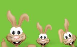 Temps de Pâques de lapin de Pâques Photos libres de droits