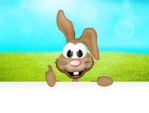 Temps de Pâques de lapin de Pâques Photo libre de droits