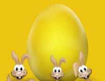 Temps de Pâques de lapin de Pâques Images stock