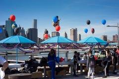 Temps de partie dans NYC Photographie stock libre de droits