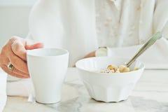 Temps de petit déjeuner photo libre de droits