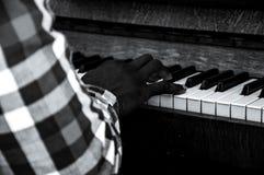 Temps de piano Photographie stock libre de droits