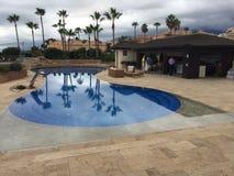 Temps de piscine Photos stock