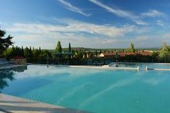Temps de piscine Image stock