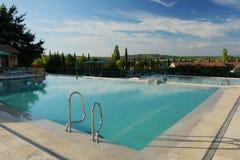Temps de piscine Image libre de droits