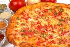 Temps de pizza photographie stock libre de droits