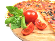 temps de pizza images libres de droits