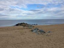 Temps de plage Photo libre de droits