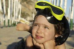 Temps de plage Photographie stock libre de droits