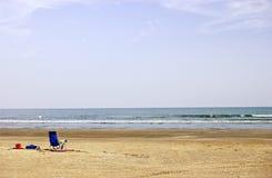Temps de plage photo stock