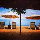 Temps de plage Photos stock