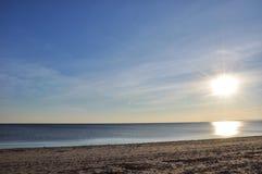 Temps de plage Images stock