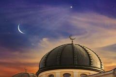 Temps de prière Ramadan généreux Images stock