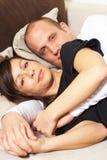 temps de refroidissement de divan Photo libre de droits