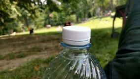 Temps de repos de l'Italie de parc de Botle Images libres de droits