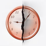 Temps de rupture Image libre de droits
