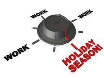 Temps de saison des vacances illustration de vecteur