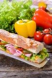 Temps de sandwich Image libre de droits