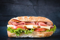 Temps de sandwich photographie stock