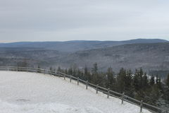 Temps de ski Image libre de droits