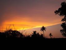 Temps de soirée Photo libre de droits